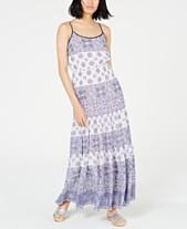 020d13036246 MICHAEL Michael Kors Mosiac Printed Sleevless Maxi Dress, In Regular and  Petite