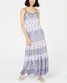 MICHAEL Michael Kors Mosiac Printed Sleevless Maxi Dress, In Regular and Petite