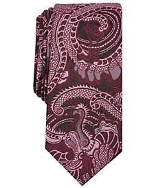 INC Men's Tattoo Art Skinny Tie, Created for Macy's