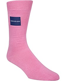 Men's Logo-Patch Crew Socks
