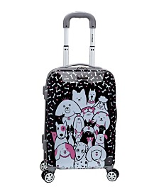 "Rockland Puppy 20"" Hardside Carry On"