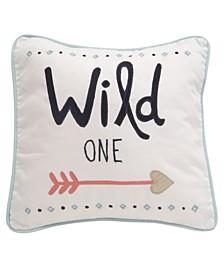 Little Spirit One with Arrow Decorative Nursery Throw Pillow