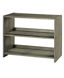 Small Bookcase Shelf for Low Loft