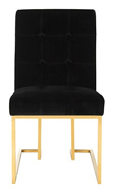 Morrison Velvet Side Chair, Quick Ship