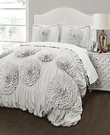 Serena 3Pc King Comforter Set