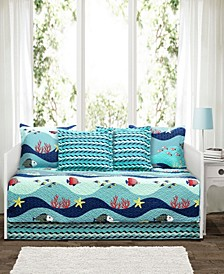 Sealife 6-Pc. Daybed Cover Set
