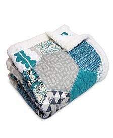 Briley Sherpa Throw Blanket