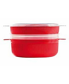 4L Microwave Dish Steamer (16 Cups)