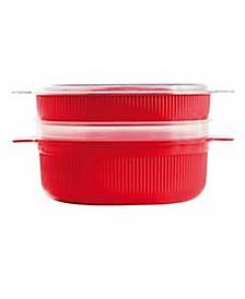 Widgeteer 4L Microwave Dish Steamer (16 Cups)