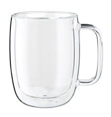 ZWILLING Sorrento Plus Latte Glass Mug, Set of 2