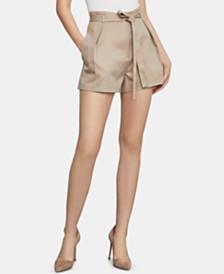 BCBGMAXAZRIA Paperbag-Waist Shorts