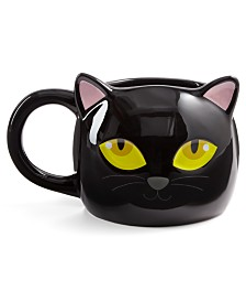 Martha Stewart Collection Cat Mug, Created for Macy's
