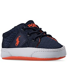 Polo Ralph Lauren Infant Boys' Felixstowe Gore Layette Crib Sneakers from Finish Line