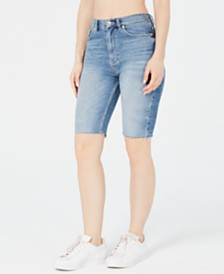 Superdry Kari Longline Denim Shorts