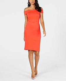 Off-The-Shoulder Bodycon Dress, Created for Macy's