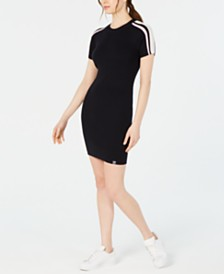 Superdry Sydney Ribbed Bodycon Dress
