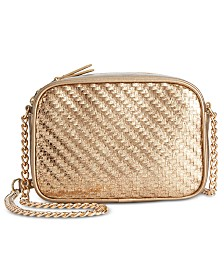 I.N.C. Glam Camera Crossbody, Created for Macy's