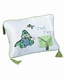 Dinosaur Tooth Fairy Pillow