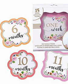 Baby Belly Stickers, Set of 1-15
