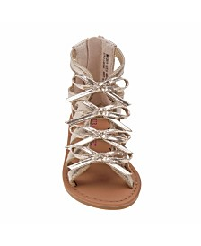 Laura Ashley's Every Step Bow Strappy Sandals