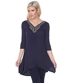 Women's Tonya Embellished Tunic top