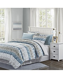 Raphael 8-Piece Bed-in-Bag Set, Queen