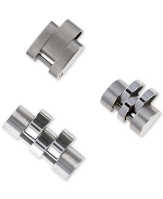 Men's Stainless Steel Jubilee Link