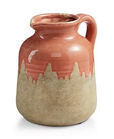 La Dolce Vita Red Ceramic Jug with Handle