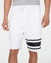 1c287fdcc HUGO Hugo Boss Men's Dorts Logo Stripe Fleece Shorts