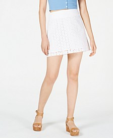 Eyelet Mini Skirt, Created for Macy's