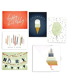 Hooray Birthday Note Cards Assortment