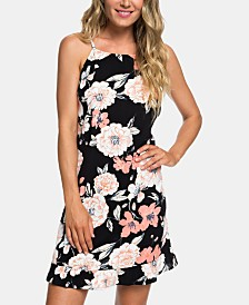Roxy Juniors' Strappy Open-Back Dress