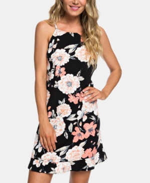 Roxy Dresses JUNIORS' STRAPPY OPEN-BACK DRESS