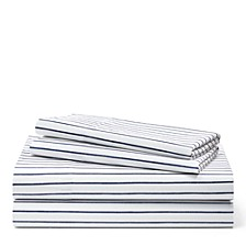 Lauren By Spencer Stripe California King Sheeting Set