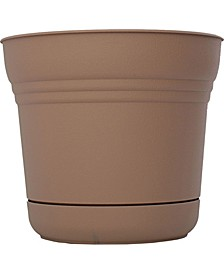 """12"""" Saturn Planter with Saucer"""