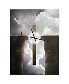 Designart Oversized Religious Metal Wall Clock