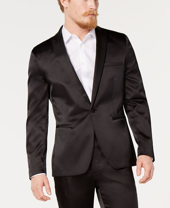 INC International Concepts INC Men's Slim-Fit Tuxedo Jacket, Created for Macy's