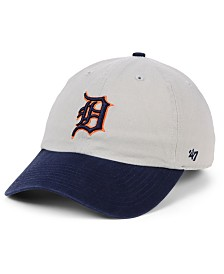 '47 Brand Detroit Tigers Gray 2-Tone CLEAN UP Cap