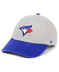'47 Brand Toronto Blue Jays Gray 2-Tone CLEAN UP Cap