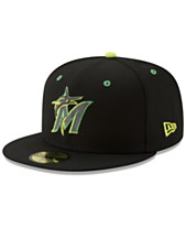 low priced 5749b 794b2 New Era Miami Marlins Night Moves 59FIFTY Fitted Cap