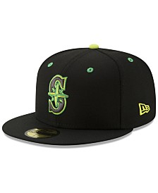 New Era Seattle Mariners Night Moves 59FIFTY Fitted Cap