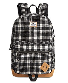 Steve Madden Men's Flannel Backpack