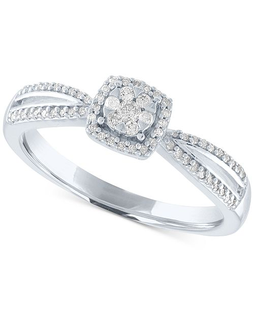 Diamond Cer Promise Ring 1