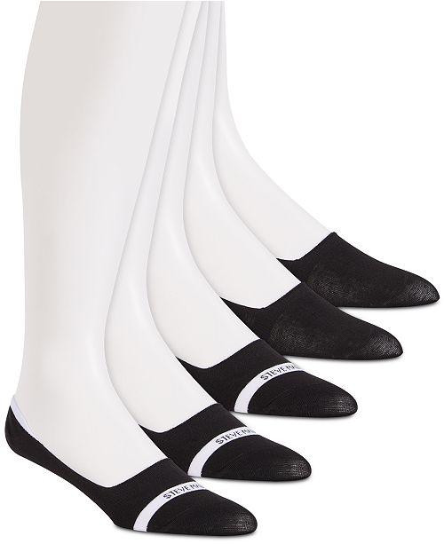 Steve Madden Men's 5-Pk. Athletic Liner Socks