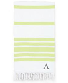 Linum Home Personalized Herringbone Pestemal Beach Towel