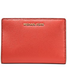 MICHAEL Michael Kors 2-in-1 Leather Card Case