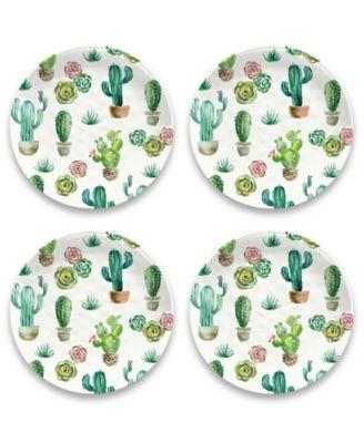Desert Garden Dinner Plate, Set of 4