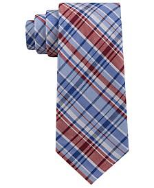 Tommy Hilfiger Men's Boston Plaid Tie