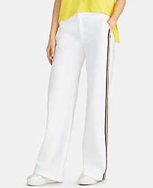 RACHEL Rachel Roy Kelly Rainbow-Striped Pants