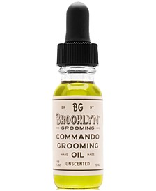 Commando Grooming Oil, 0.5-oz.